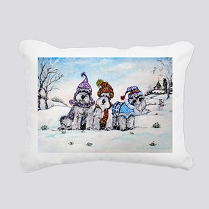 Christmas 8x12 Rectangular Canvas Pillow